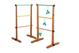 Viva Sol Premium Outdoor Ladderball Game Includes Two Ladder Target and ... - $124.34