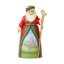 "Irish Santa from Jim Shore Around the World Collection 7.1"" High Christmas"