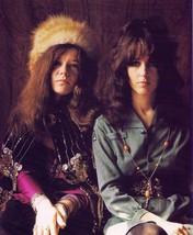 Janis Joplin Grace Slick TKK Vintage 16X20  Matted Color Music Memorabil... - $31.95
