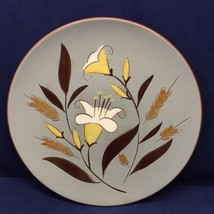 "Stangl GOLDEN HARVEST Dinner Plate 10"" Diameter MCM Vtg Hand Painted Floral - $14.84"