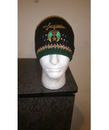 Masonic Shriners Handmade Crochet Beanie/Green Trim - $23.00