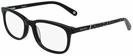 NEW NINE WEST NW 5169 001 Black Eyeglasses 52mm with Case - $59.35
