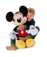 "Jumbo 48"" Plush Disney Mickey Mouse Doll Gigantic Gift Toy New USA seller - $180.00"