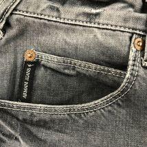 Armani Men's Gray Jeans Straight 32 image 10