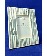 "Pomeroy 4"" x 6"" Rialto Gray and White Resin Photo Frame - $65.99"