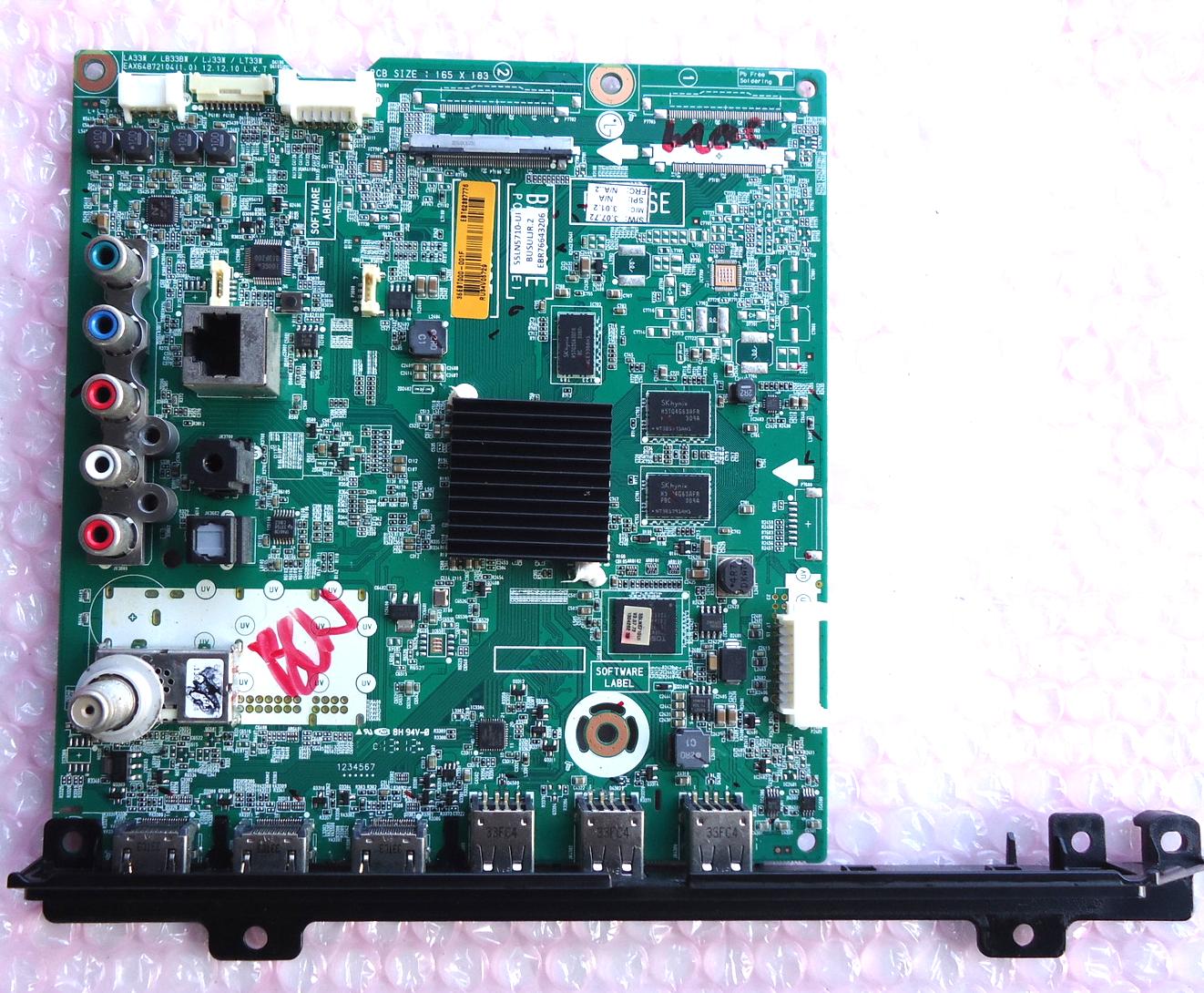 Lg 50LN5710 Mainboard P# EAX64872104 (1 0) and 22 similar items