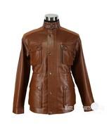 Leather Jacket Men Trialmaster Benjamin Field Military Motorbike Gents P... - $211.85+