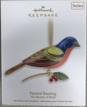 Hallmark 2012 PAINTED BUNTING - The Beauty of Birds #8 in Series -  NIB - $17.95