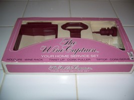 The Wine Captain Cork Puller--YOUR HOME SERVICE SET--NEW OTHER WITH BOX! - $8.99