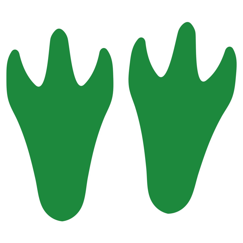 Dinoprint green