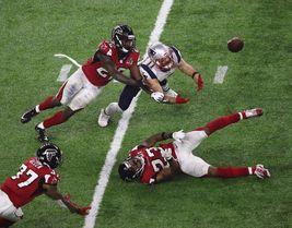 Julian Edelman New England Patriots SB 51 22X28 Color Football Memorabil... - $39.95