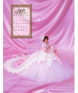 Miss September 1999 Bridal Dreams Outfit fits Barbie Doll Annies Pattern... - $7.62