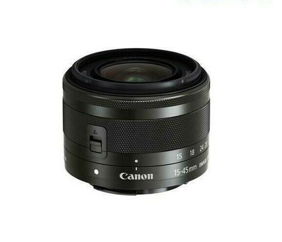 Canon EF-M 15-45mm F/3.5-6.3 IS STM Camera Lens for M2 M3 M5 M6 M100 M10 M50