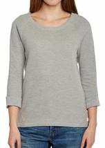 Bench Women's Grey Nam Banana Long Sleeve Cowl Neck Sweatshirt Jumper NWT