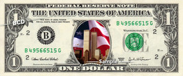 September 11th on a REAL Dollar Bill Sept 11 9-11 Cash Money Collectible Memorab - $8.88