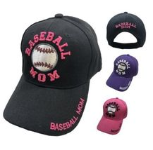 """""""Baseball Mom"""" Embroidered Ball Cap Womens Hat Many Colors New! - $8.95+"""