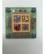 Lucinda Pin Nurture Give Love Grow Window Ladybug Flowers - $19.28