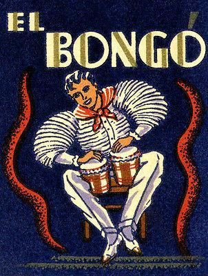 Primary image for 1930's - El Bongo - Matchbook Advertising Poster