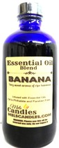 Bananas 8 oz Blue GLASS Bottle of Premium Grade A Essential Oil/Fragranc... - $25.72