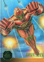 1995 FLAIR MARVEL ANNUAL CHASE CARD CHROMIUM LIMITED EDITION 3 OF 12 IRO... - $2.93