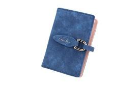 Women Credit Card 20 Slots Holder Ladies Wallet Matte PU Leather Slim ID... - $15.03