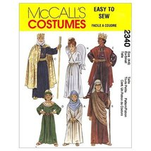 McCall's Patterns M2340XSM Christmas Costumes, X-Small - $9.89