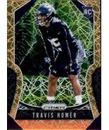 Travis Homer 2019 Panini Prizm Lazer Parallel Rookie Card #340 - $5.00
