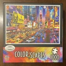Colorscapes Show Time 1000 Piece Linen Jigsaw Puzzle - Excellent Condition - $9.70