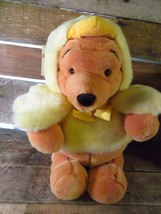 "Disney Store Easter Chick Winnie The Pooh 13"" Plush Stuffed Animal Toy B... - $19.79"