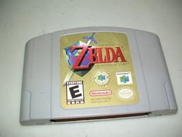 Zelda Ocarina of Time N64 Game Free Shipping - $18.99