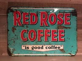 Vintage Original 1950's Red Rose Coffee is Good... - $242.35