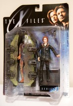 X Files Agent Dana Scully in Arctic Gear w/ Cryopod Chamber Action Figur... - $16.95