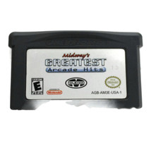 Gameboy Advanced Midways Greatest Arcade hits Video Game - $4.79
