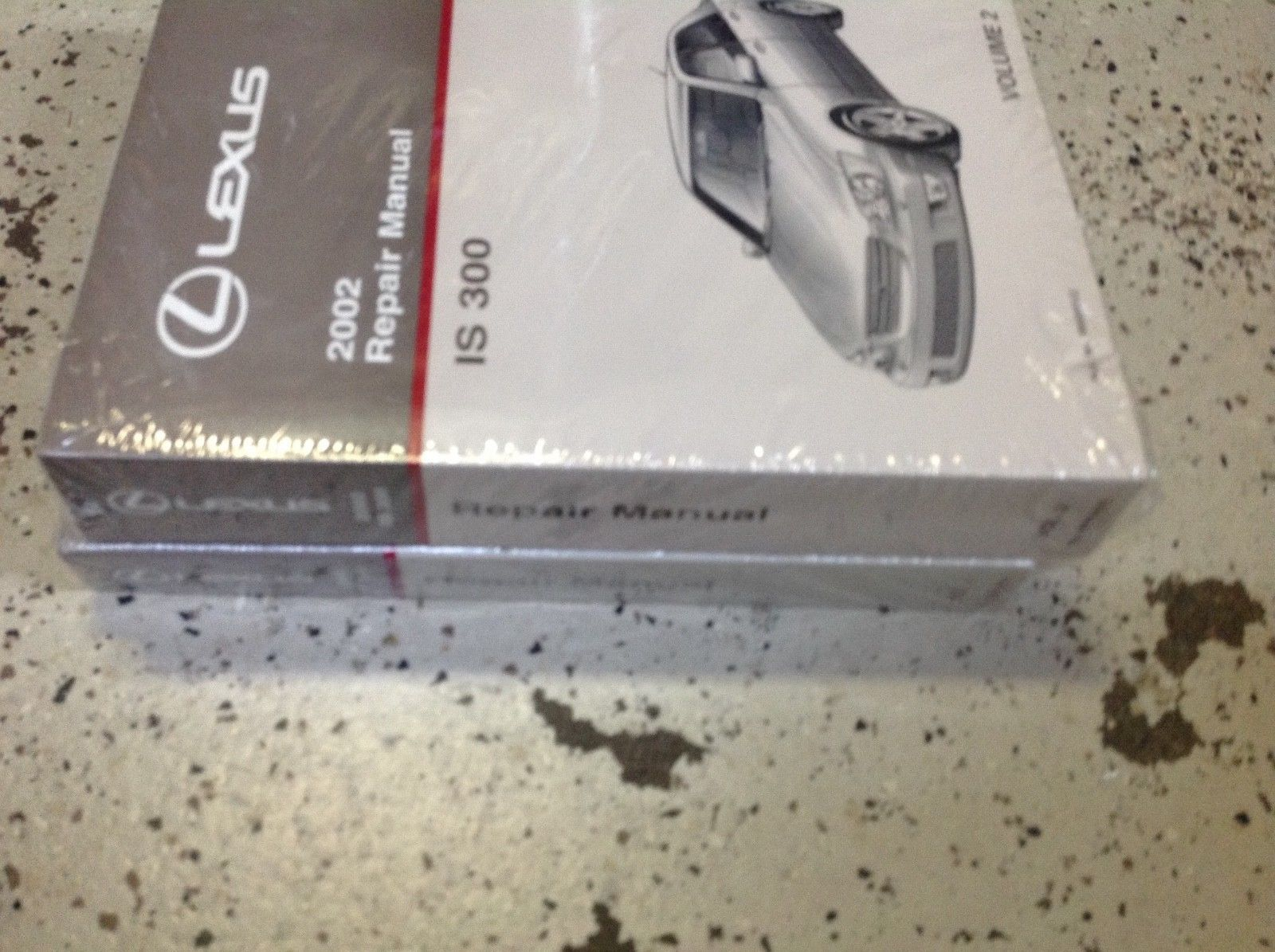 Primary image for 2002 LEXUS IS300 IS 300 Service Workshop Shop Repair Manual SET FACTORY