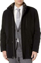 NWT - $325 Cole Haan Signature Black Faux Fur Collar Quilt Lined Parka S... - $98.99