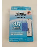 Thermacell Mosquito Repellent Refill 48 Hour 12 Mats 4 Fuel Cartridge Unsented - £17.20 GBP