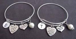 Mother of Bride, Mother of Groom,Wedding Bangle Bracelet,Bridal Shower Jewelry - $35.00
