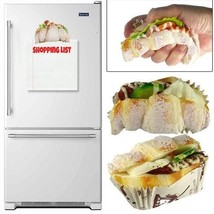Squishy Croissant Refrigerator Magnets Bakery Novelty Item (Pack of 12) - $39.55