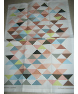Linen Cotton Tea Towel Avril Loreti Design - $13.27