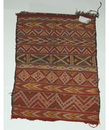 Unbranded DV150 Moroccan Rug Hand Woven Pumpkin Multi Colored - $251.00