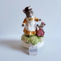 Vintage Schmid Beatrix Potter Music Box #138 Mouse Beautiful Morning See Video - $24.99