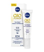 Nivea Q10 Power Anti Wrinkle Moisturizer plus Firming Eye Cream 2 x 15ml... - $79.99