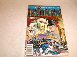 batman  comic book 1989 1 movie special - $45.17
