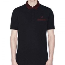 Fred Perry Homme Oxford Bordure Col Polo Piqué Slim Fit Haut Manches Cou... - $67.58