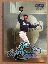 1999 Fleer Ultra Ken Griffey JR #726 Gold Medallion Baseball Card Marine... - $4.49