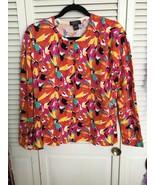 August Silk Floral Cardigan - $15.00
