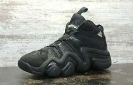 Vintage 2005 Adidas Crazy 8 Quick Basketball Shoes SZ 10.5 Used Black 46... - $49.50