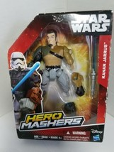 Disney Hasbro Star Wars KANAN JARRUS Hero Masher Action Figure - $9.69
