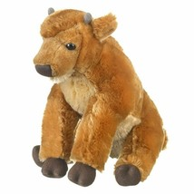 Wild and Wonderful Bison Calf Plush Stuffed Animal From Wildlife Artists - $13.67