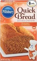 Pillsbury Pumpkin Quick Bread and Muffin Mix - 14 oz (Pack of 6) - $43.11